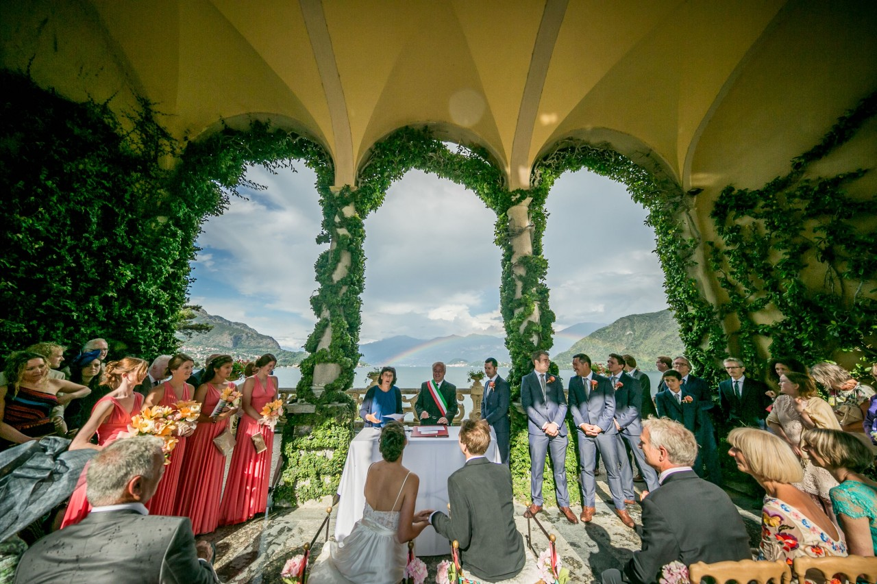 loggia civil ceremony