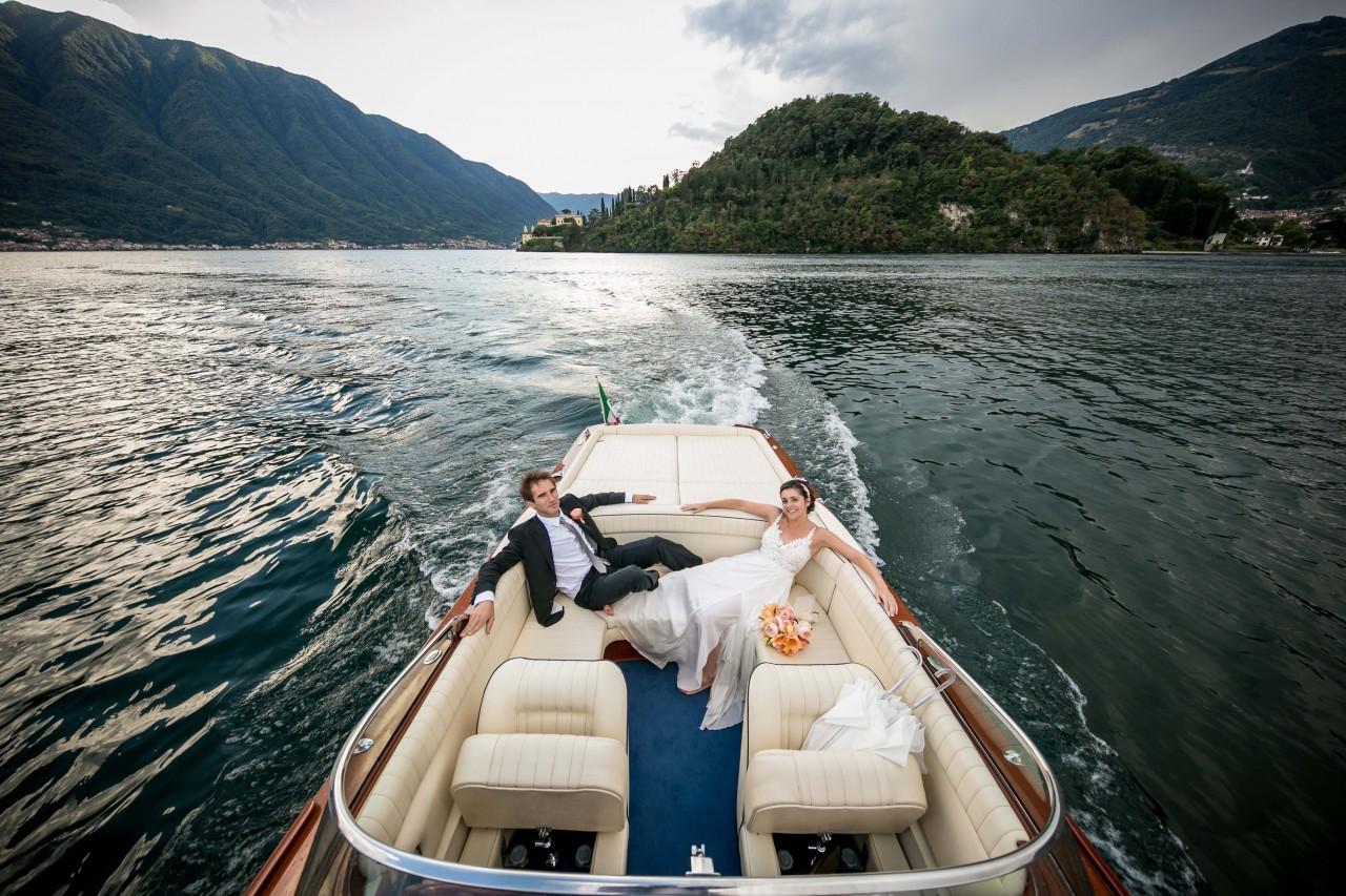 married couple lake como